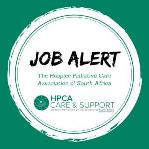 Current vacancies - Hospice Palliative Care Associate (HPCA)