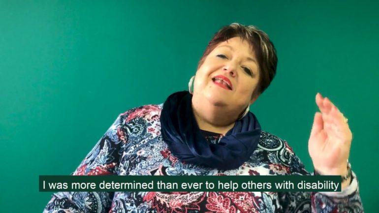 Petra Burger, proud palliative care voice